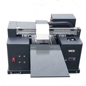 2018 UV führte Flachbettdrucker a4 dtg T-Shirt Logodruckmaschine für Verkauf WER-E1080T
