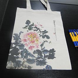 Canvas Tasche Druckprobe von A2 T-Shirt Drucker WER-D4880T