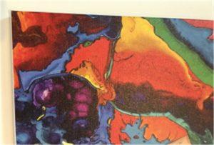 Leinwanddruckmuster von WER-E2000UV