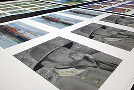 Fotopapier, gedruckt mit einem 1,8 m (6 Fuß) Eco Solvent Drucker WER-ES1802 2
