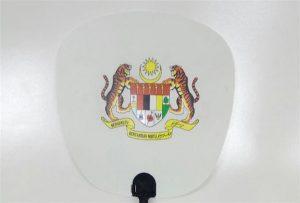 Plastikfächerprobe gedruckt durch A1 Größe UVdrucker 6090UV
