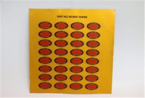 Druckprobe von Metall auf A3 UV-Drucker WER-E2000UV