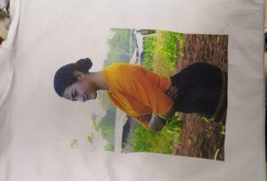 T-Shirt-Druckmuster für den Burma-Client vom Drucker WER-EP6090T