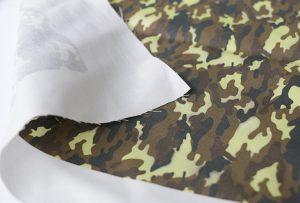Textildruckprobe 3 durch digitale Textildruckmaschine WER-EP7880T
