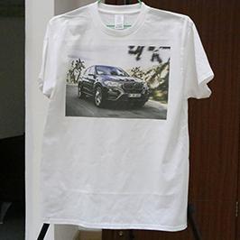 Weißes T-Shirt Druckmuster von A3 T-Shirt Drucker WER-E2000T 2