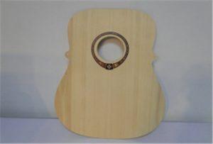 Holzgitarre Probe von A2 Größe UV-Drucker WER-DD4290UV