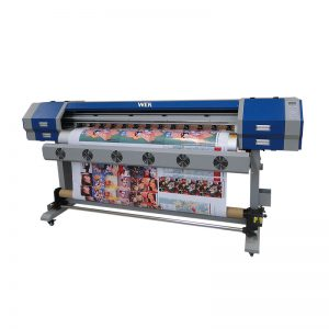 digitaler Textildrucker e Jet v22 v25 Sublimationsmaschine mit dx5 oder E5113 Druckkopf WER-EW160