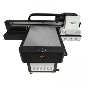 Digital-UV-Flachbett-Tintenstrahl direktes Textildrucker-T-Shirt DTG-Drucker WER-ED6090T