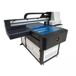 Multifunktions-Qualität DTG Flachbett UV-Drucker LED UV Kopf RICOH für Holz WER-ED6090UV